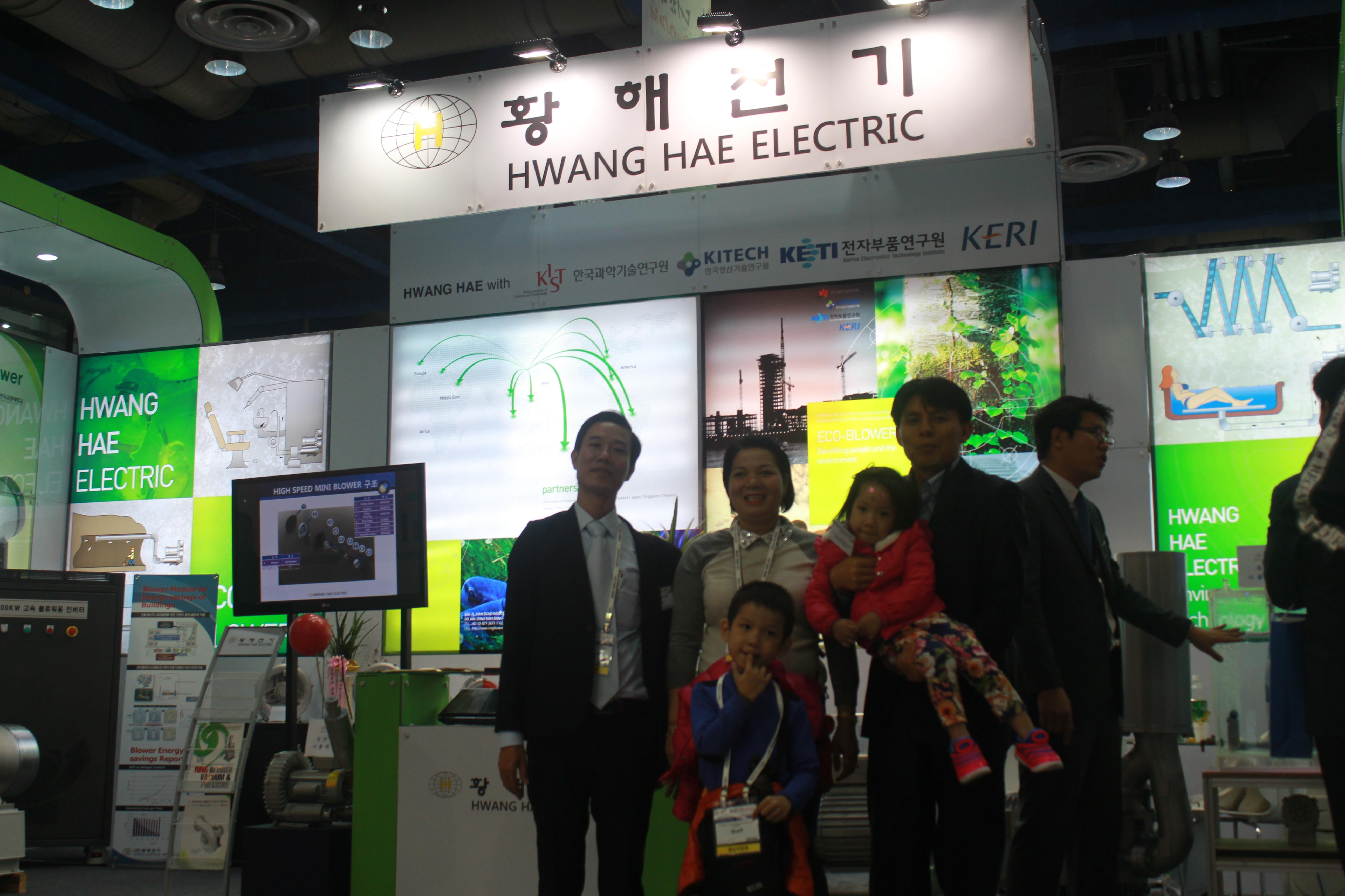 Lãnh đạo Fisco có chuyến thăm nhà máy Hwanghae Electric Namdong Gu , Incheon City , Korea