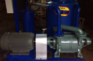 Hệ thống chân không vòng nước dùng cho sản xuất dầm cầu bê tông đúc sẵn