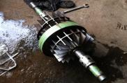 Thay phớt cho bơm chân không vòng nước 15 kW